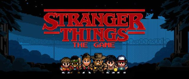Stranger Things The Game - Portada - El Palomitrón