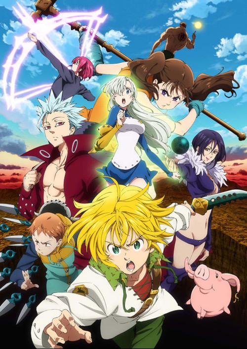 fecha de la segunda temporada de Nanatsu no Taizai imagen promocional - el palomitron
