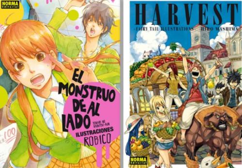 Licencias Norma Editorial XXIII Sal%C3%B3n del Manga de Barcelona harvest el palomitron