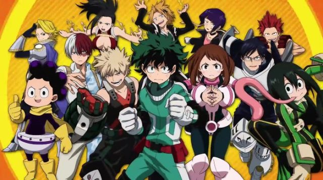 My Hero Academia One's Justice para PS4 y Switch heroes - el palomitron