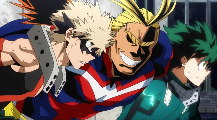 Los mejores animes de 2017 my hero academia - el palomitron