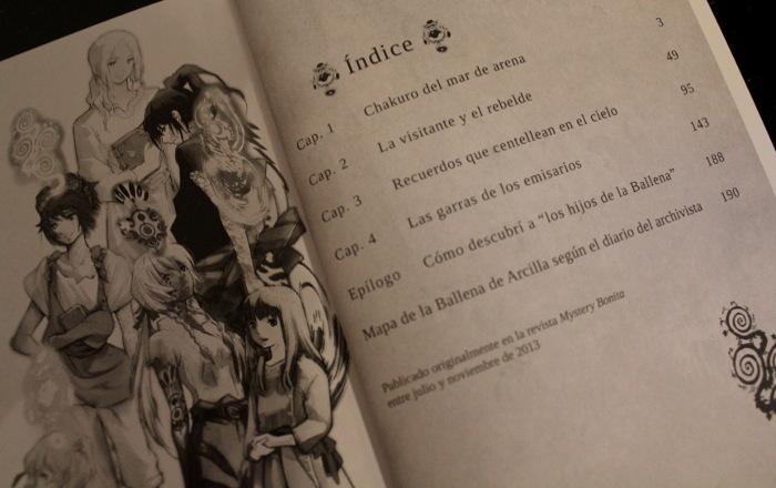 Reseña Children of the Whales #1, de Abi Umeda libro 5 - el palomitron
