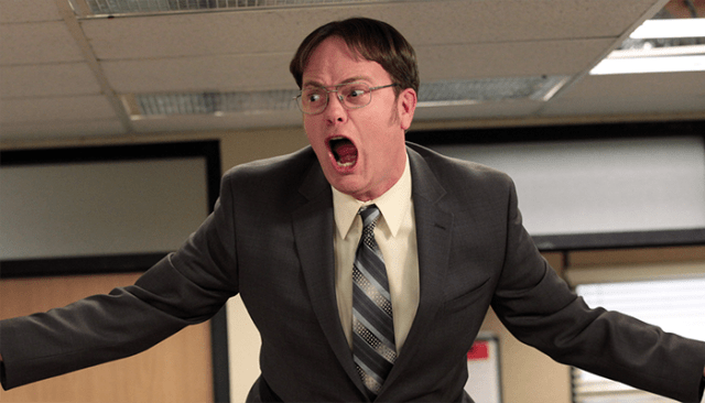 THE OFFICE DWIGHT EL PALOMITRON