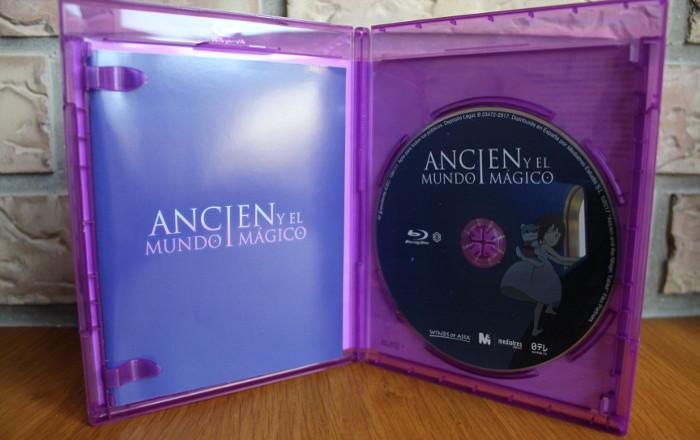 edición Blu-Ray Ancien y el mundo mágico, de Kenji Kamiyama blu ray - el palomitron