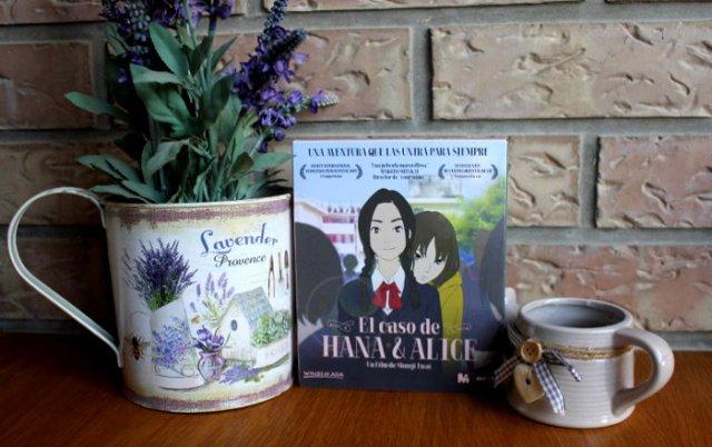 edición coleccionista El caso de Hana y Alice edicion decorada - el palomitron
