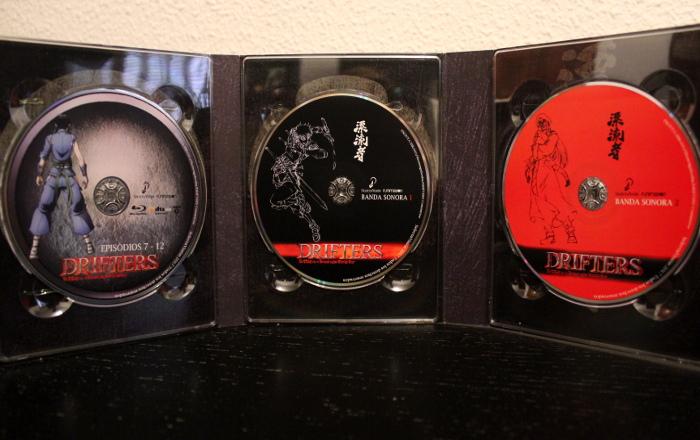edición coleccionista de Drifters, de Selecta Visión discos 1 - el palomitron