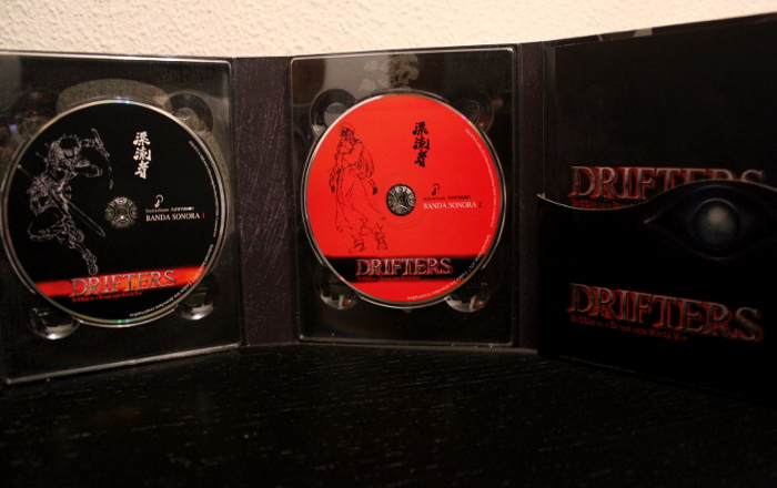 edición coleccionista de Drifters, de Selecta Visión discos 2 - el palomitron