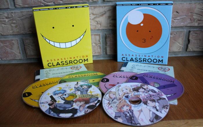 edición coleccionista de la 1º temporada de Assassination Classroom, de Selecta Visión edicion 5 - el palomitron