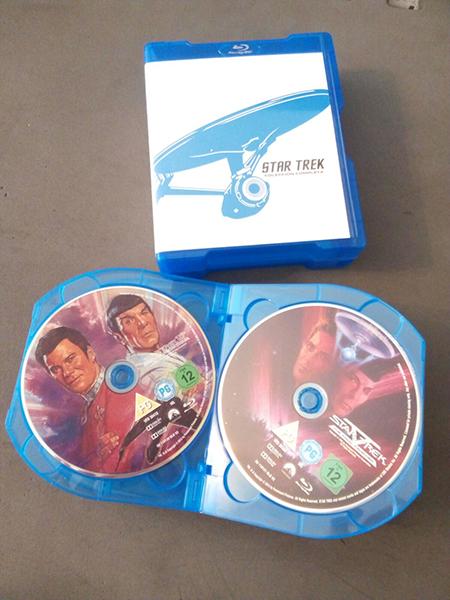 Pack 3 Star Trek El Palomitrón