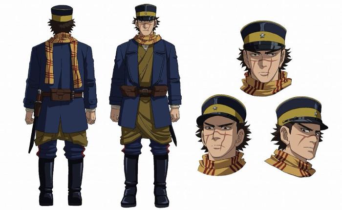 tráiler promocional del anime Golden Kamuy sugi - el palomitron