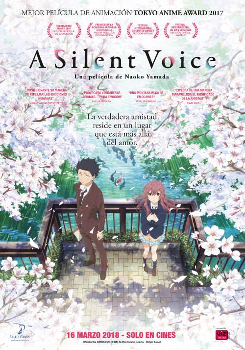 ASilent Voicerecibe el Premio del Público en el FAN Festival 2018 poster - el palomitron