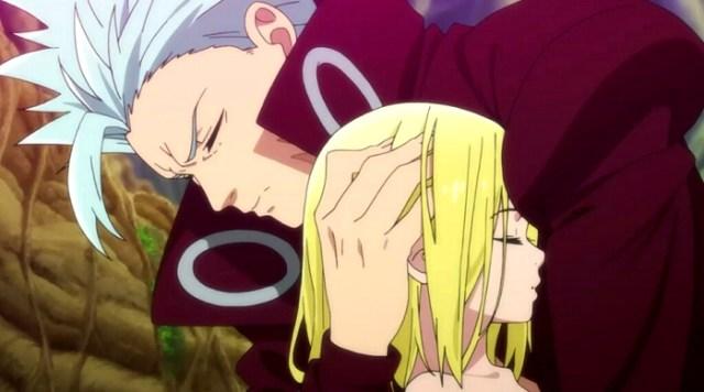 Crítica de Nanatsu no Taizai segunda temporada capítulos 1-5 Ban y Elaine - el palomitron