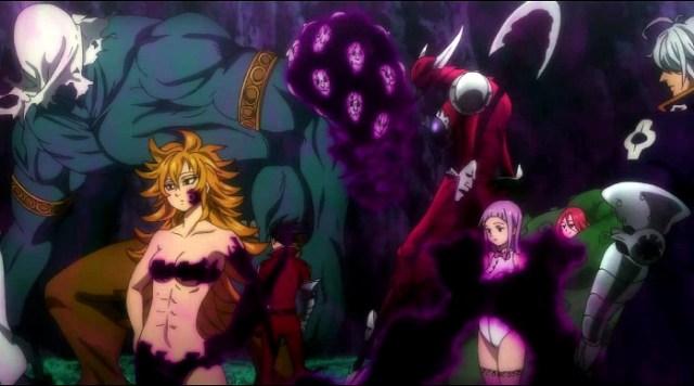 Crítica de Nanatsu no Taizai segunda temporada capítulos 1-5 los 10 mandamientos - el palomitron
