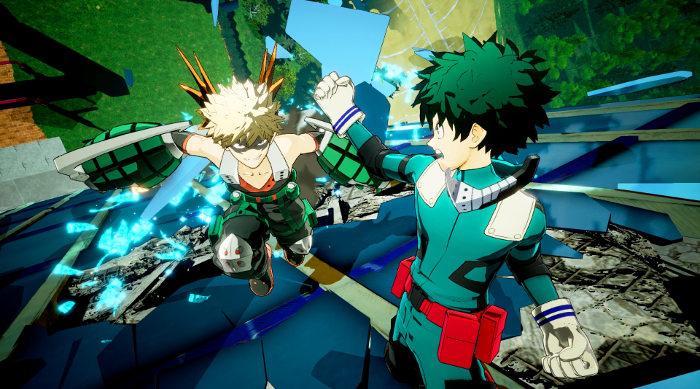 Personajes de My Hero Academia One's Justice Bakugo galeria 2 - el palomitron