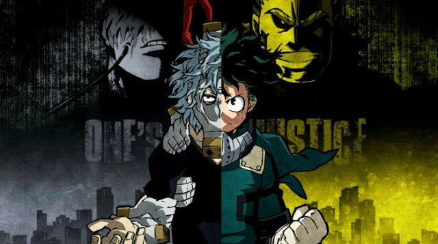 Personajes de My Hero Academia One's Justice principal - el palomitron