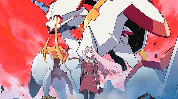Recomendaciones anime invierno 2018 Darling in the FRANXX - El Palomitron