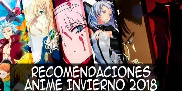 Recomendaciones anime invierno 2018 destacada - el palomitron