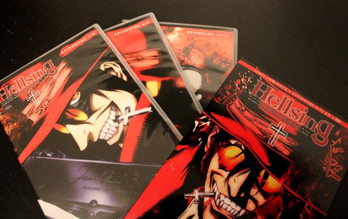 edición remasterizada de Hellsing, de Selecta Visión galería 1 - el palomitron