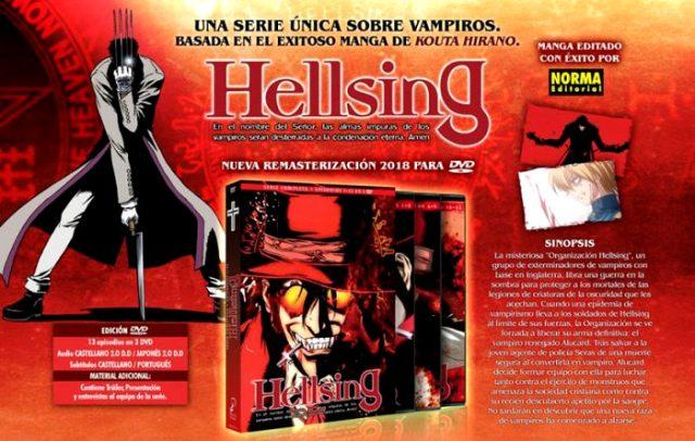 edición remasterizada de Hellsing, de Selecta Visión principal - el palomitron