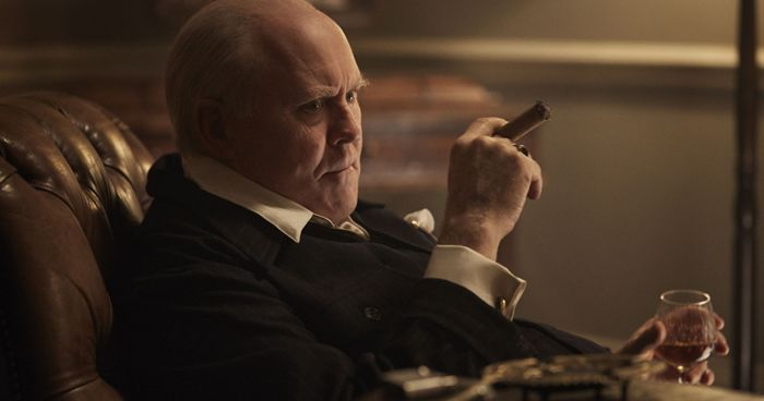 John Lithgow Chruchill The Crown El Palomitrón