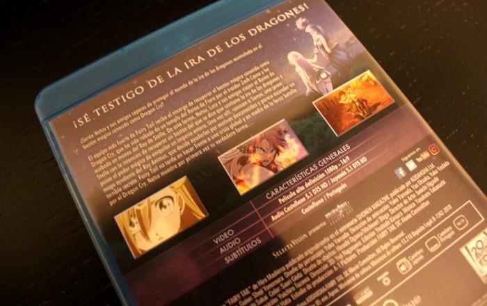 edición Blu-ray de Fairy TailDragon Cry, de Selecta Visión galeria 4 - el palomitron