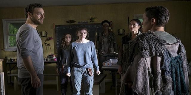 Enid y Aaron The Walking Dead El Palomitrón