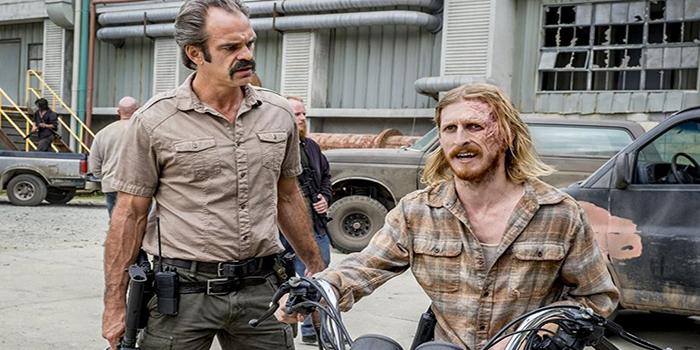 Simon y Dwight The Walking Dead El Palomitrón