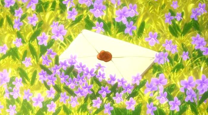 Crítica de Violet Evergarden carta final - el palomitron