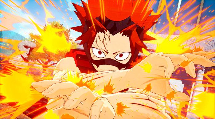 Personajes de My Hero Academia One's Justice Kirishima 1 - el palomitron