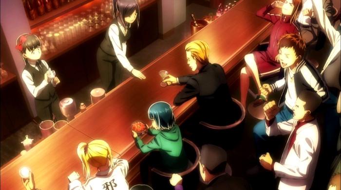 Primeras impresiones de Hinamatsuri escena - el palomitron