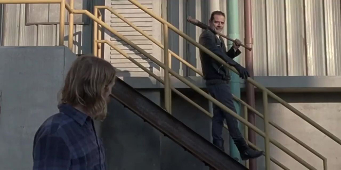 Negan y Dwight The Walking Dead El Palomitrón