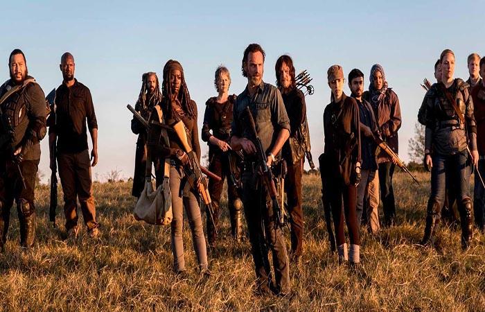 Rick y los demás The Walking Dead El Palomitrón