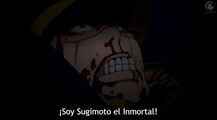 Crítica de Golden Kamuy 04 Sugimoto - el palomitron