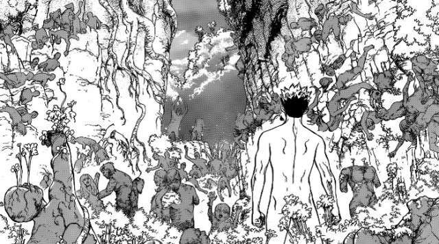 Reseña de Dr. Stone #1, de Riichiro Inagaki y Boichi Taiju - el palomitron