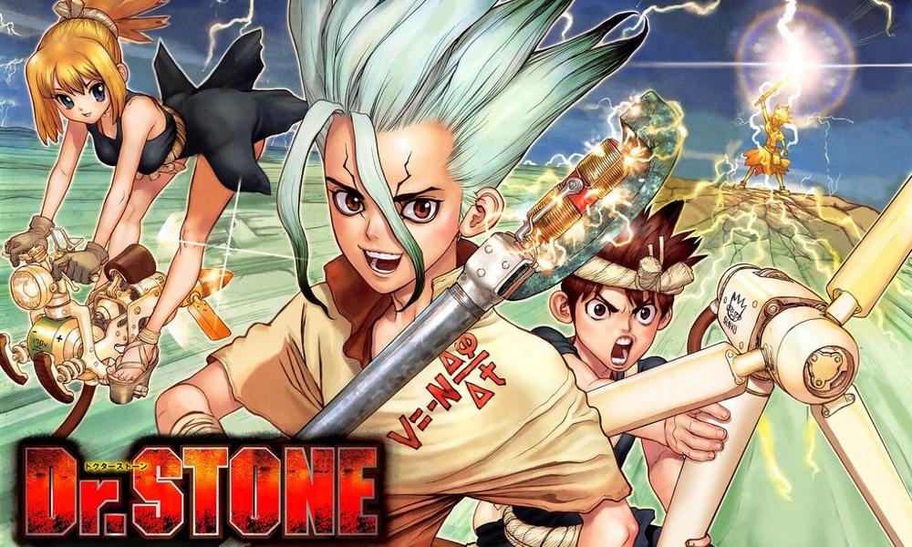 Reseña de Dr. Stone #1, de Riichiro Inagaki y Boichi destacada - el palomitron