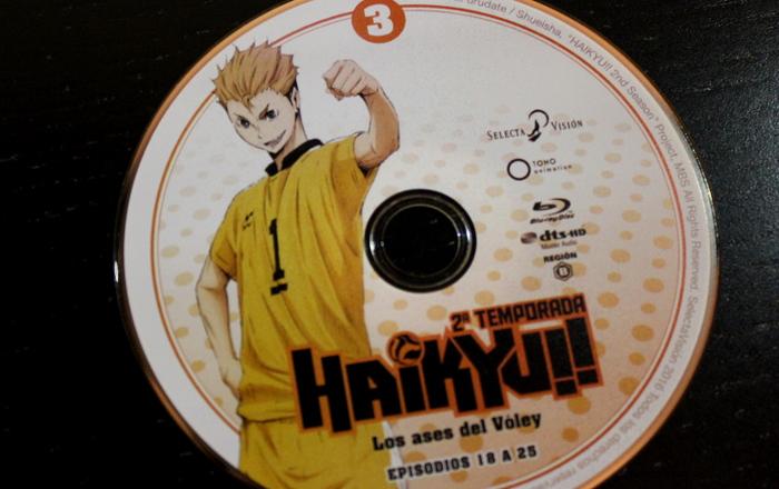 edición Blu-ray de la 2ª temporada de Haikyu!!, de Selecta Visión galeria 6 - el palomitron