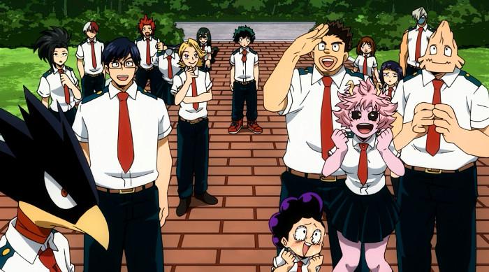 Crítica de Boku no Hero Academia 3x13 alumnos - el palomitron