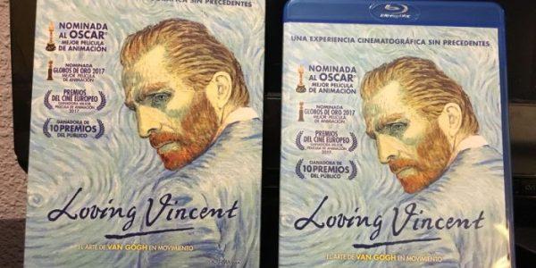 DVD de Loving Vincent - El Palomitrón