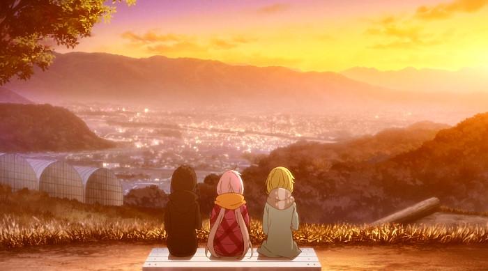 Laid-Back Camp y su efecto en Japón puesta de sol - el palomitron