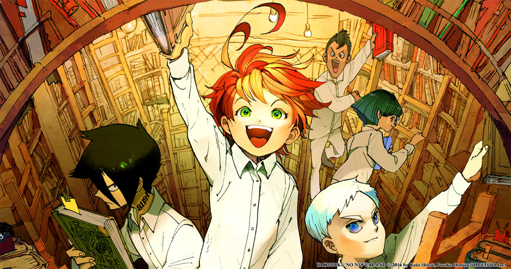 Reseña de The Promised Neverland #2 destacada - el palomitron