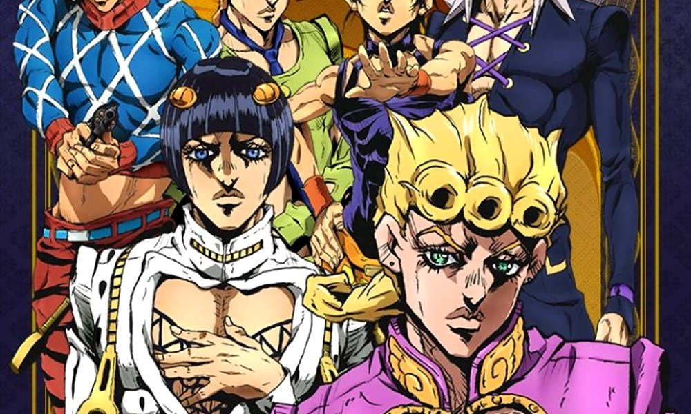anime de JoJo's Bizarre Adventure Vento Aureo destacada - el palomitron