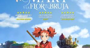 fecha de estreno de Mary y la flor de la bruja en España destacada - el palomitron