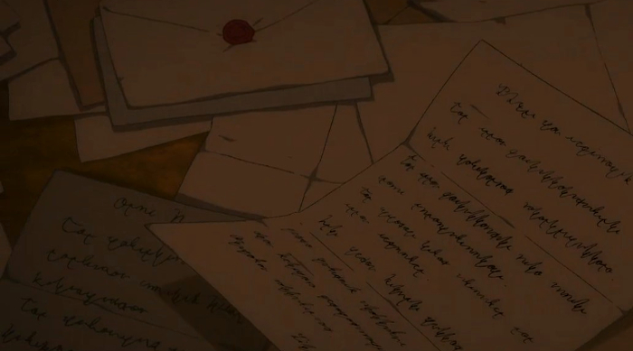 Violet Evergaden 14 (episodio especial) Cartas 1 - el palomitron