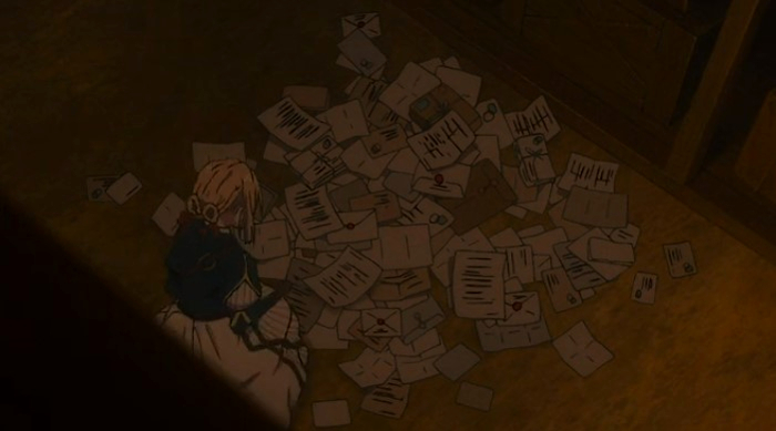 Violet Evergaden 14 (episodio especial) Cartas 2 - el palomitron