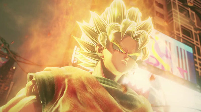 personajes de Jump Force Dragon Ball - el palomitron
