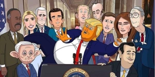 presidente animado serie