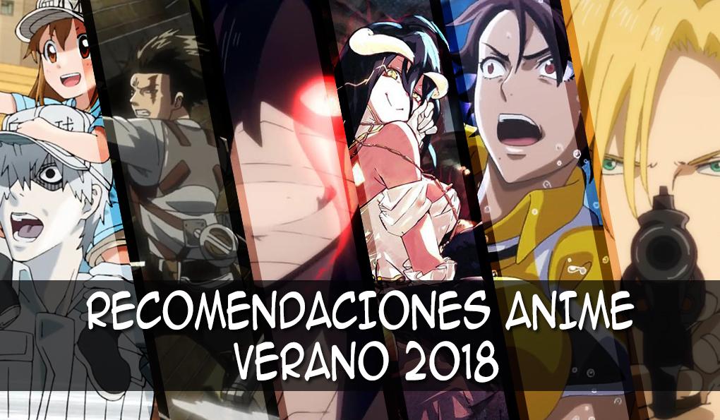 Recomendaciones anime verano 2018 imagen destacada - el palomitron