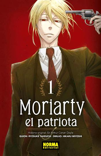 Reseña de Moriarty el patriota #1 edicion - el palomitron