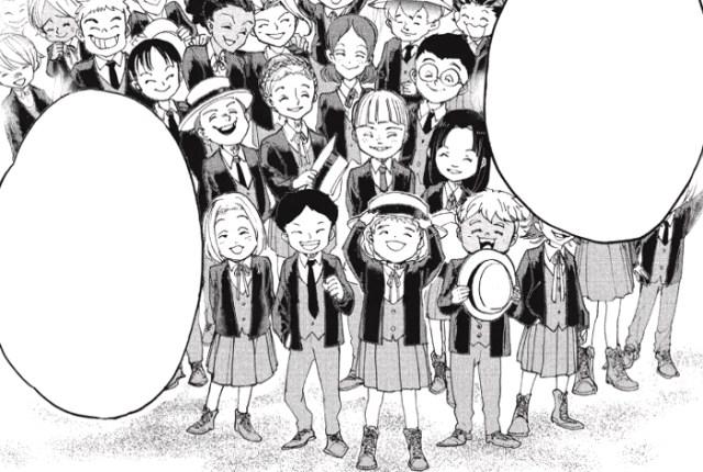 Reseña de The Promised Neverland #3 Niños orfanato - el palomitron