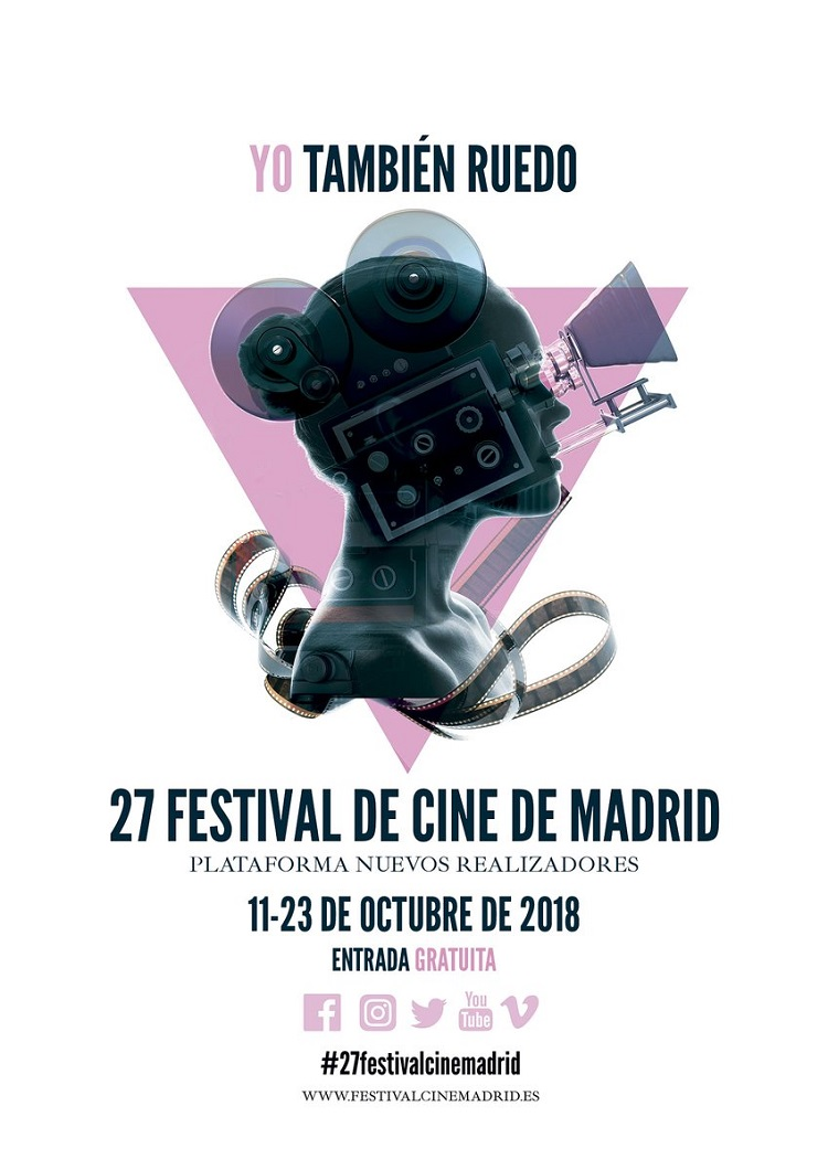Festival de Cine de Madrid cartel - El Palomitron